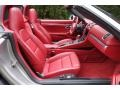 Carrera Red Natural Leather Front Seat Photo for 2013 Porsche Boxster #116152832