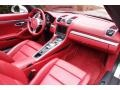 Carrera Red Natural Leather Dashboard Photo for 2013 Porsche Boxster #116152865