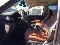 2017 Cadillac Escalade Kona Brown Interior Front Seat Photo