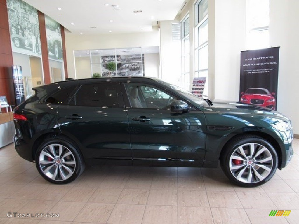 2017 Jaguar F Pace Prestige >> 2017 British Racing Green Jaguar F-PACE 35t AWD S #116167560 Photo #6 | GTCarLot.com - Car Color ...