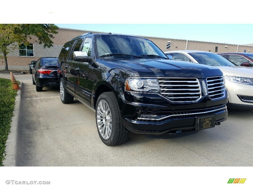 2017 Black Velvet Lincoln Navigator L Reserve 4x4 116167541 Car Color Galleries