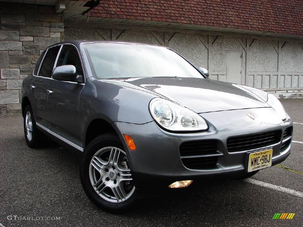 2003 porsche cayenne gray 200 interior and exterior images. Black Bedroom Furniture Sets. Home Design Ideas