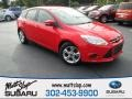 Race Red 2014 Ford Focus SE Hatchback