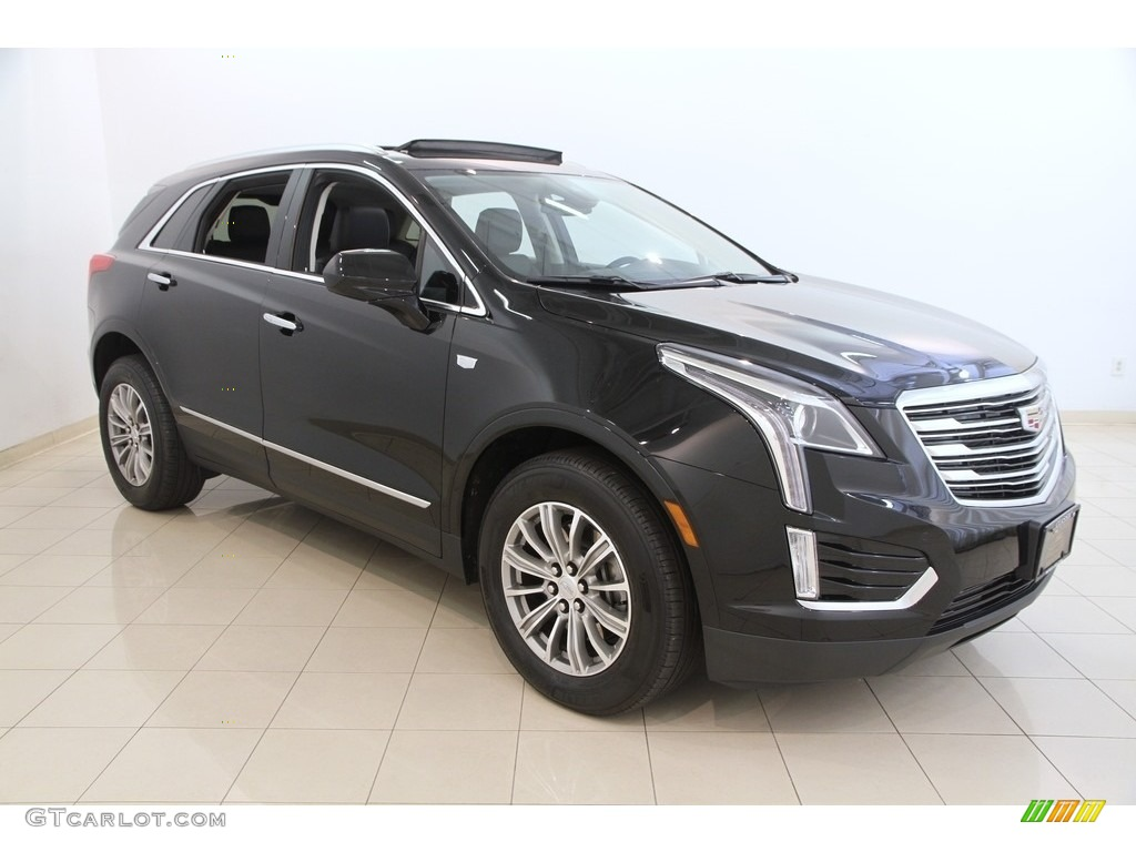 2017 Stellar Black Metallic Cadillac Xt5 Luxury 116195918 Car Color Galleries