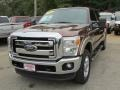 2011 Golden Bronze Metallic Ford F250 Super Duty Lariat Crew Cab 4x4 #116222962