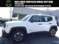 Alpine White 2015 Jeep Renegade Sport 4x4
