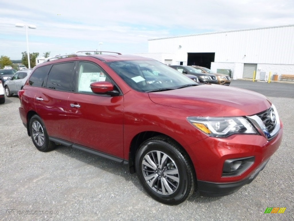 2017 cayenne red nissan pathfinder s 4x4 116223054 photo - 2013 nissan pathfinder interior colors ...