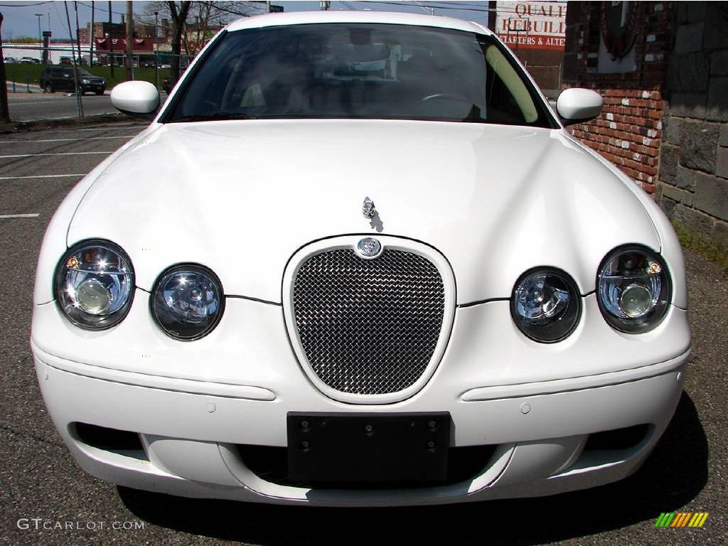 2006 White Onyx Jaguar S-Type R #11579053 | GTCarLot.com - Car Color ...