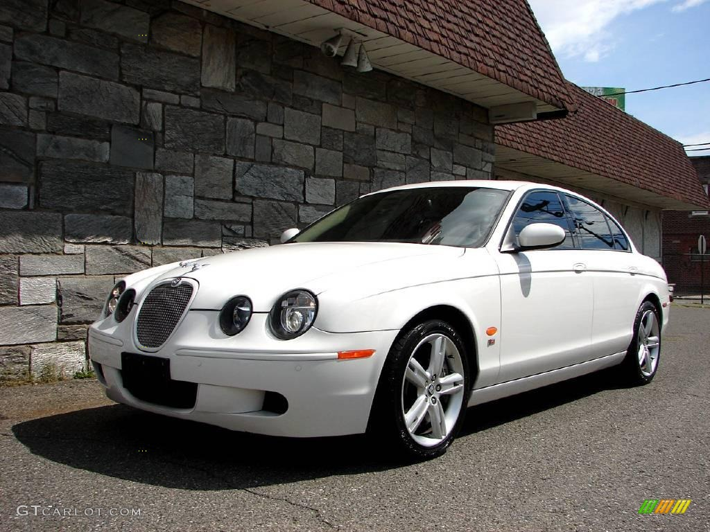 white onyx 2006 jaguar s type r exterior photo 11623953. Black Bedroom Furniture Sets. Home Design Ideas