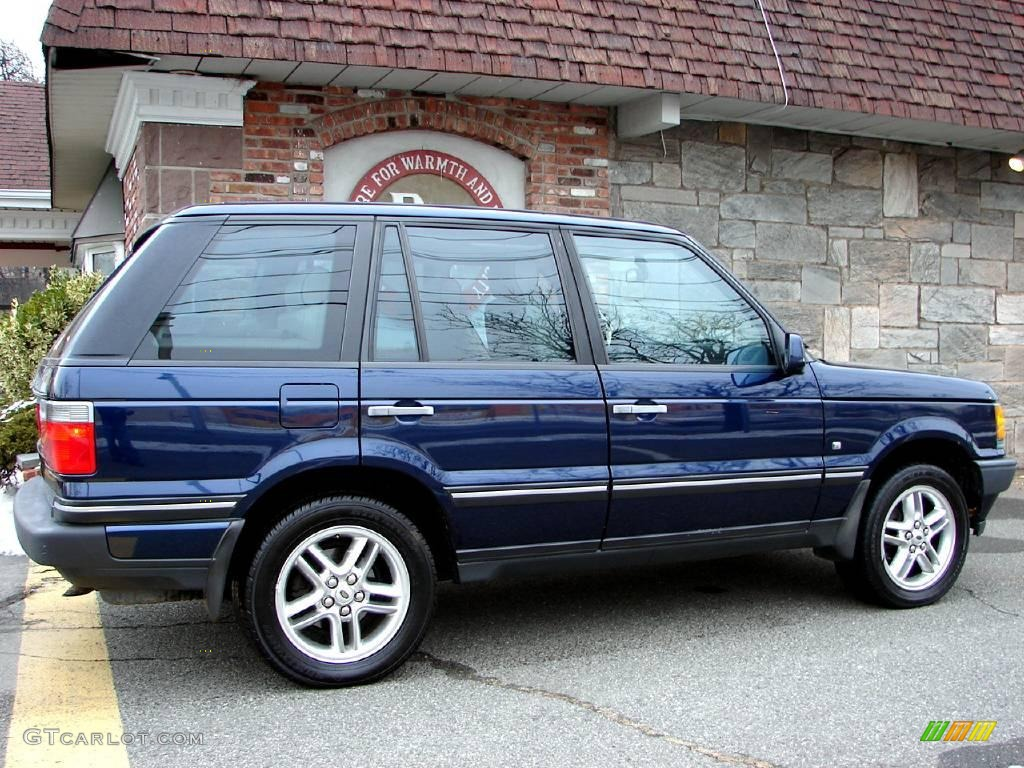 2002 oslo blue pearl land rover range rover 4 6 hse 11578995 photo 2 car. Black Bedroom Furniture Sets. Home Design Ideas