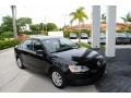Black Uni 2013 Volkswagen Jetta S Sedan