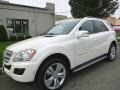 Diamond White Metallic 2011 Mercedes-Benz ML 350
