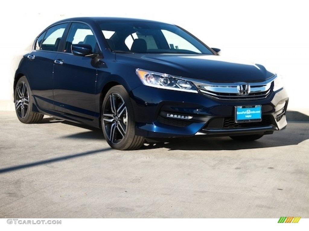 Honda accord sport black