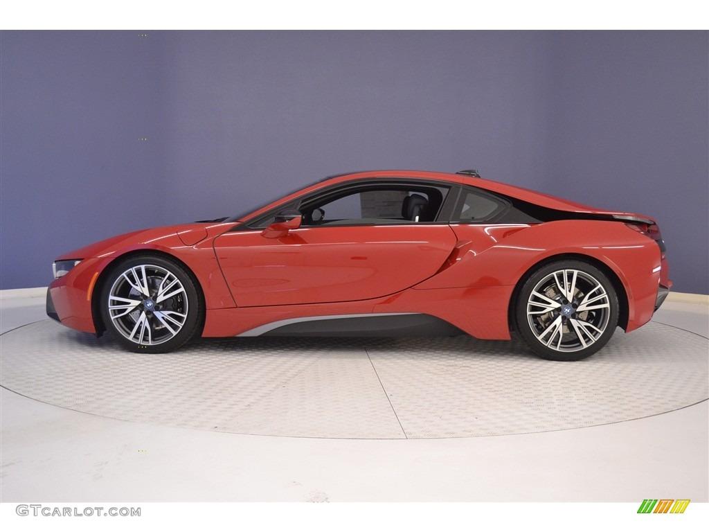 I8 Exterior: Protonic Red Metallic 2017 BMW I8 Standard I8 Model