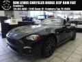 Nero Cinema Jet Black 2017 Fiat 124 Spider Abarth Roadster