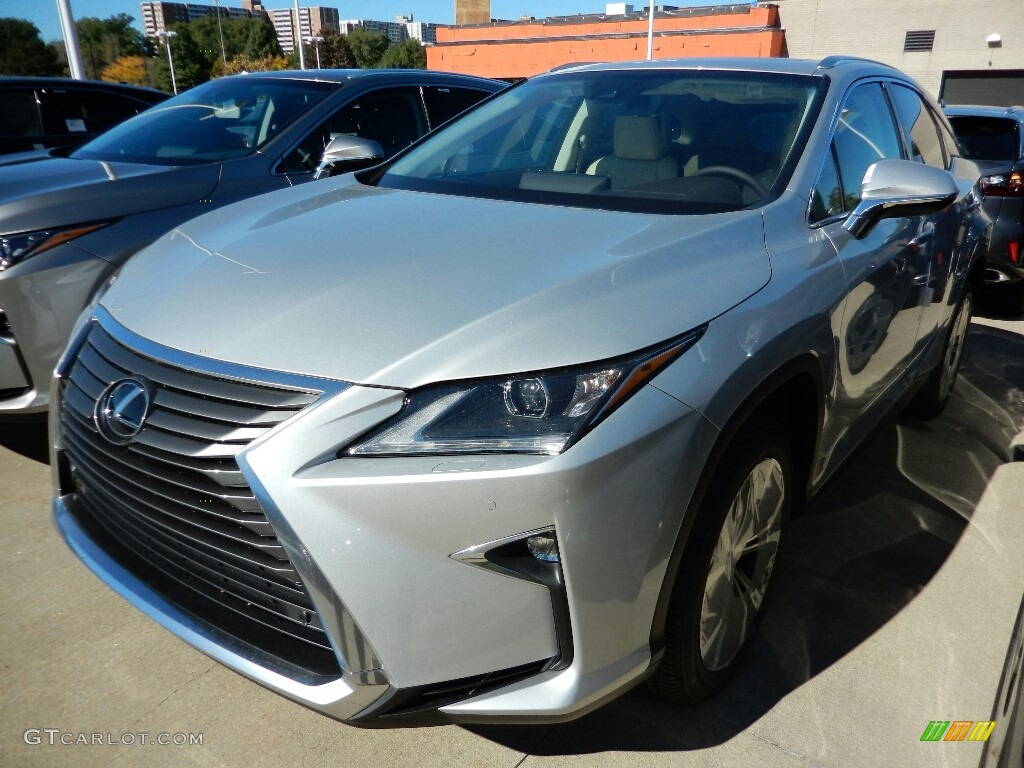 2017 Silver Lining Metallic Lexus Rx 350 Awd 116267545 Car Color Galleries