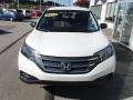2013 White Diamond Pearl Honda CR-V LX AWD  photo #4