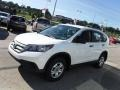 2013 White Diamond Pearl Honda CR-V LX AWD  photo #5