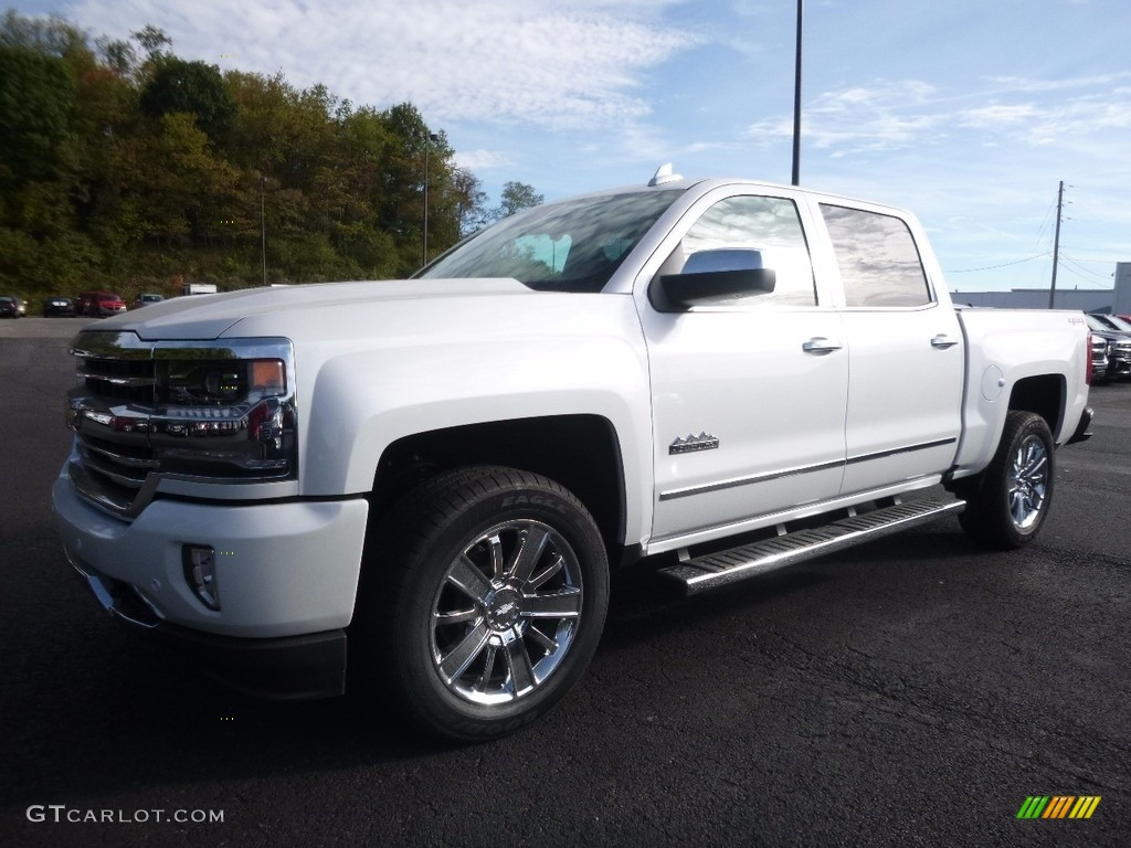 2017 iridescent pearl tricoat chevrolet silverado 1500 high country crew cab 4x4 116287149. Black Bedroom Furniture Sets. Home Design Ideas