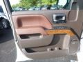 2017 Chevrolet Silverado 1500 High Country Saddle Interior Door Panel Photo