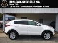 Clear White - Sportage LX AWD Photo No. 1