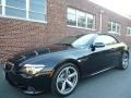 2008 Black Sapphire Metallic BMW 6 Series 650i Convertible #116314371
