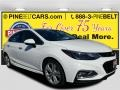 Summit White 2017 Chevrolet Cruze Premier