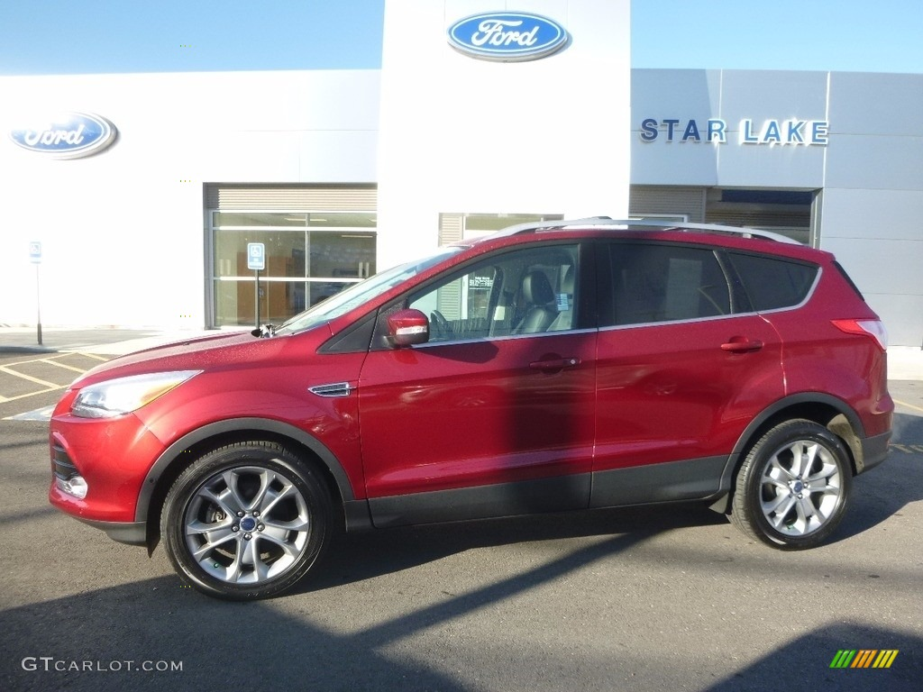 2014 ruby red ford escape titanium 1 6l ecoboost 4wd 116314364 car color galleries. Black Bedroom Furniture Sets. Home Design Ideas