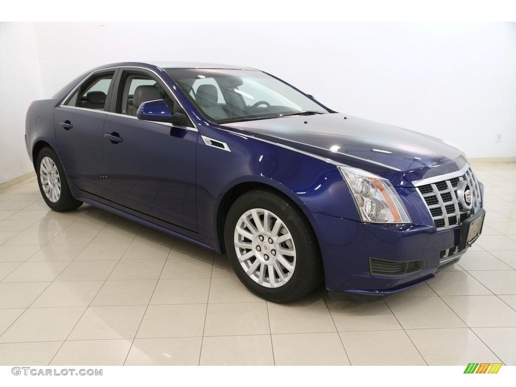 2012 Opulent Blue Metallic Cadillac Cts 4 3 0 Awd Sedan