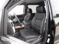 Jet Black Front Seat Photo for 2017 Chevrolet Silverado 1500 #116325230