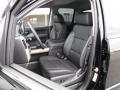 Jet Black Front Seat Photo for 2017 Chevrolet Silverado 1500 #116325884
