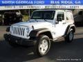 Bright White 2015 Jeep Wrangler Sport 4x4