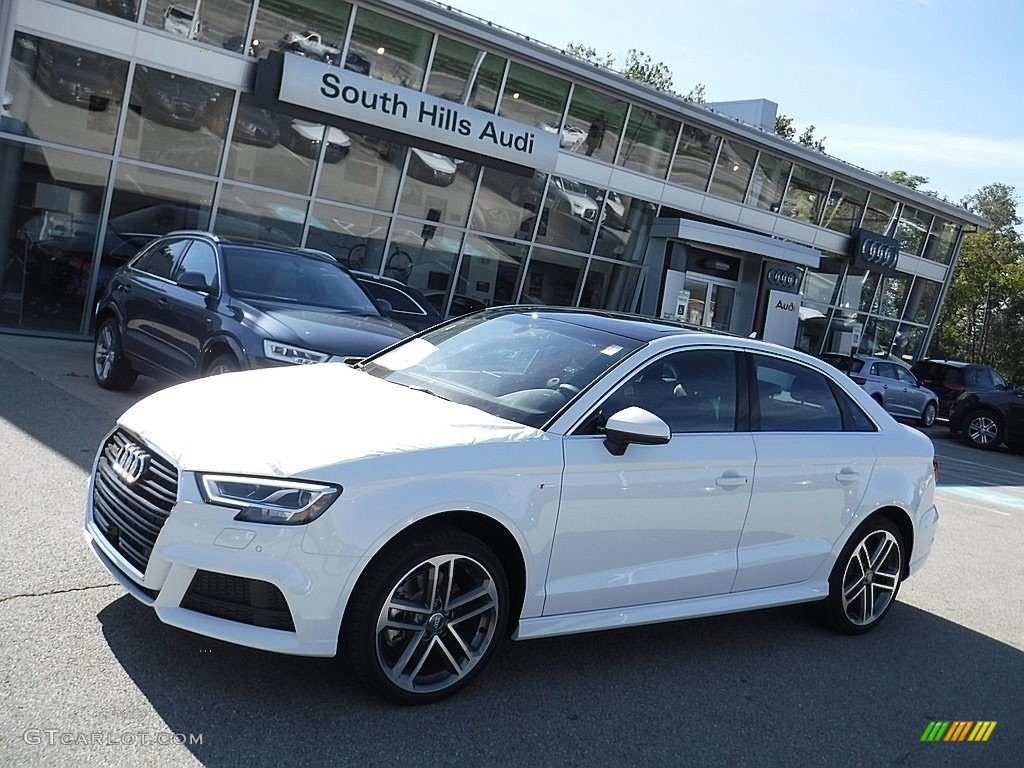 2017 a3 2 0 premium plus quattro glacier white metallic black photo 1