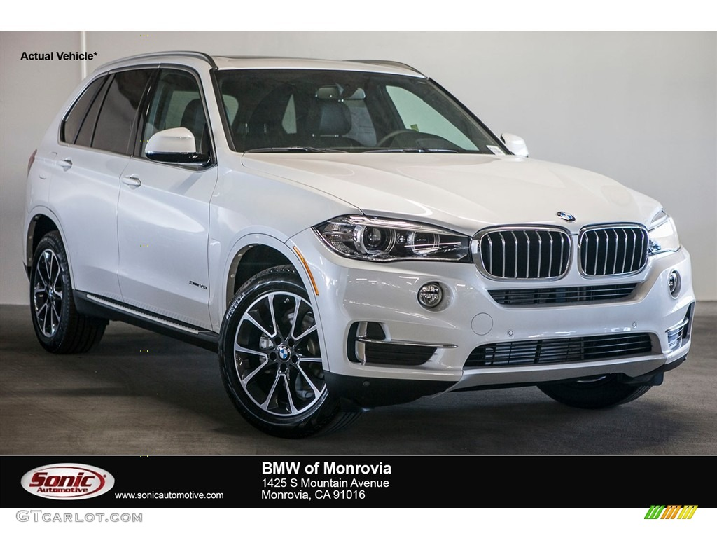 2017 Mineral White Metallic Bmw X5 Sdrive35i 116344036