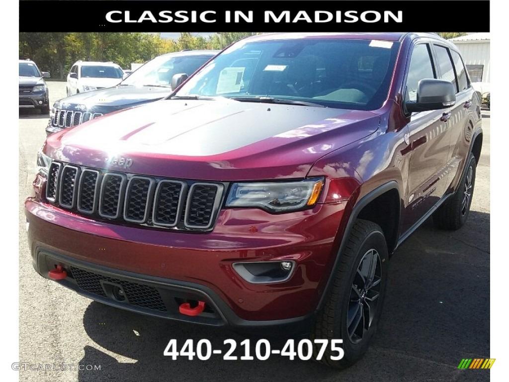 Velvet Red Pearl Jeep Grand Cherokee