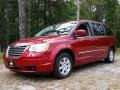 Deep Cherry Red Crystal Pearl 2010 Chrysler Town & Country Touring