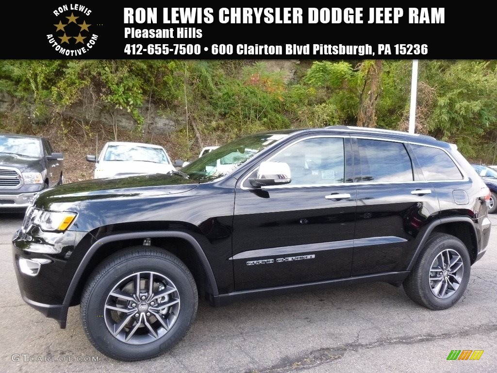 Diamond Black Crystal Pearl Jeep Grand Cherokee