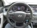Gray Steering Wheel Photo for 2017 Hyundai Sonata #116397449