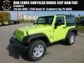 2017 Hypergreen Jeep Wrangler Sport 4x4 #116412067