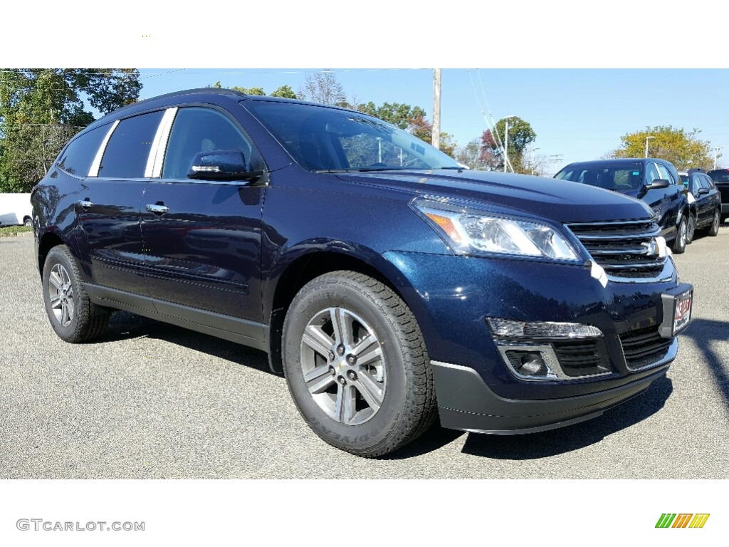 2017 blue velvet metallic chevrolet traverse lt awd 116412008 car color galleries. Black Bedroom Furniture Sets. Home Design Ideas