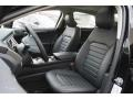 2017 Shadow Black Ford Fusion SE AWD  photo #7