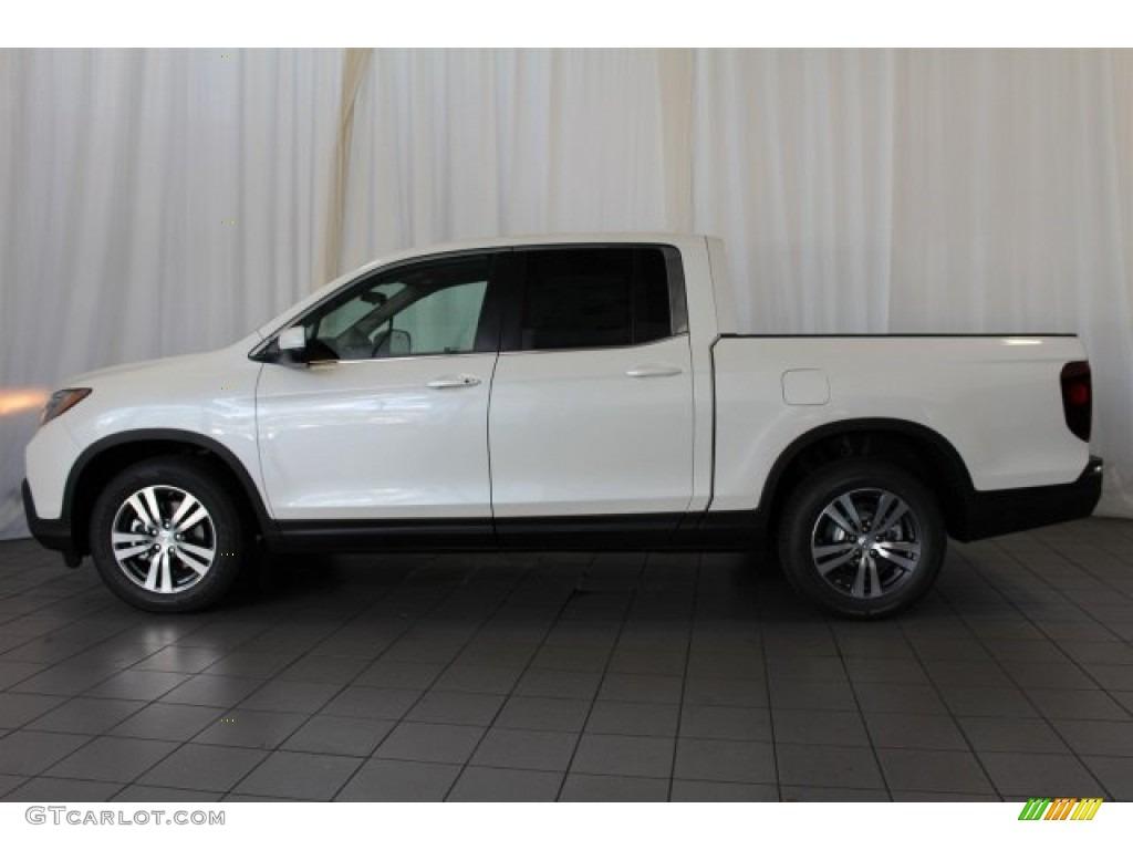 2017 White Diamond Pearl Honda Ridgeline Rts 116432805 Photo 5 Car Color