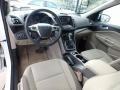 2014 White Platinum Ford Escape SE 1.6L EcoBoost 4WD  photo #18
