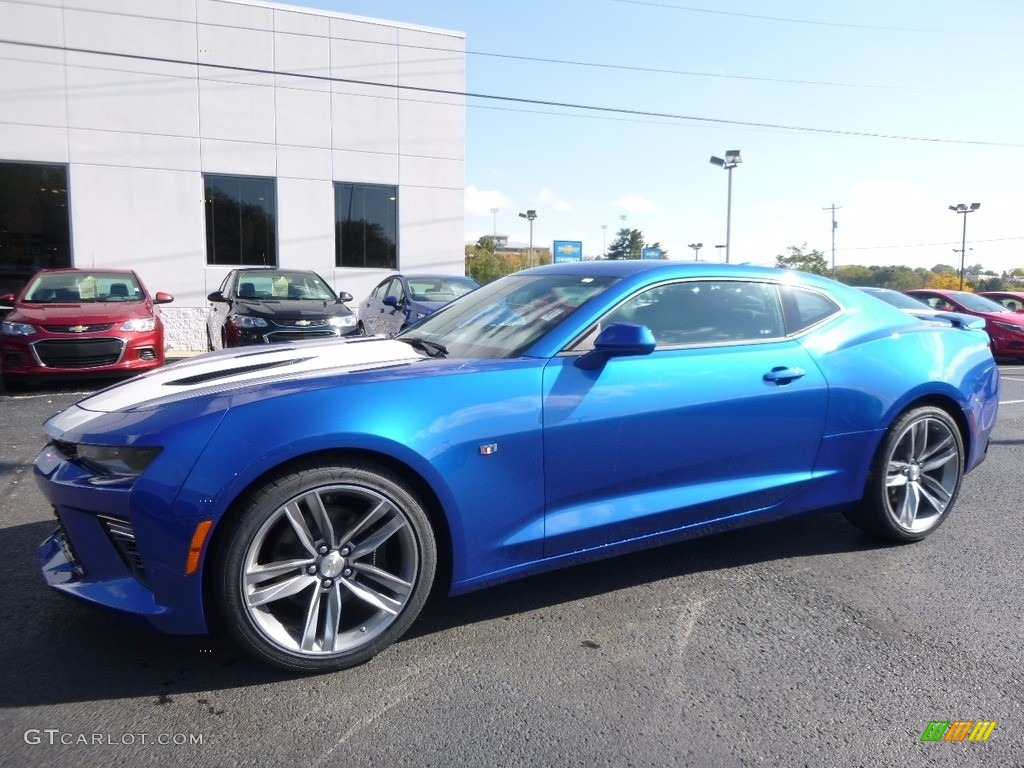 2017 Hyper Blue Metallic Chevrolet Camaro SS Coupe ...