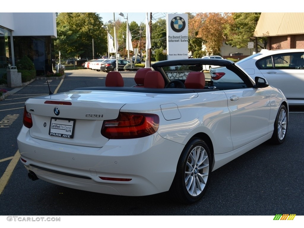 2016 Alpine White Bmw 2 Series 228i Xdrive Convertible 116432826 Photo 4 Car