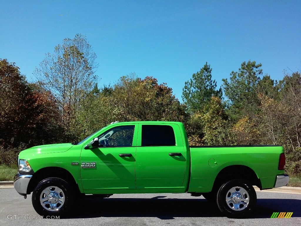 2017 Hills Green Ram 2500 Tradesman Crew Cab 4x4 #116463890 Photo #6 | GTCarLot.com - Car Color ...