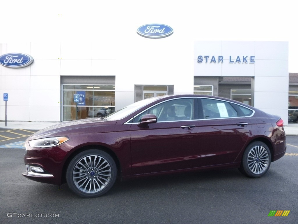 2017 Ford Fusion White Gold Color >> 2017 Burgundy Velvet Ford Fusion SE AWD #116464252 Photo #2 | GTCarLot.com - Car Color Galleries