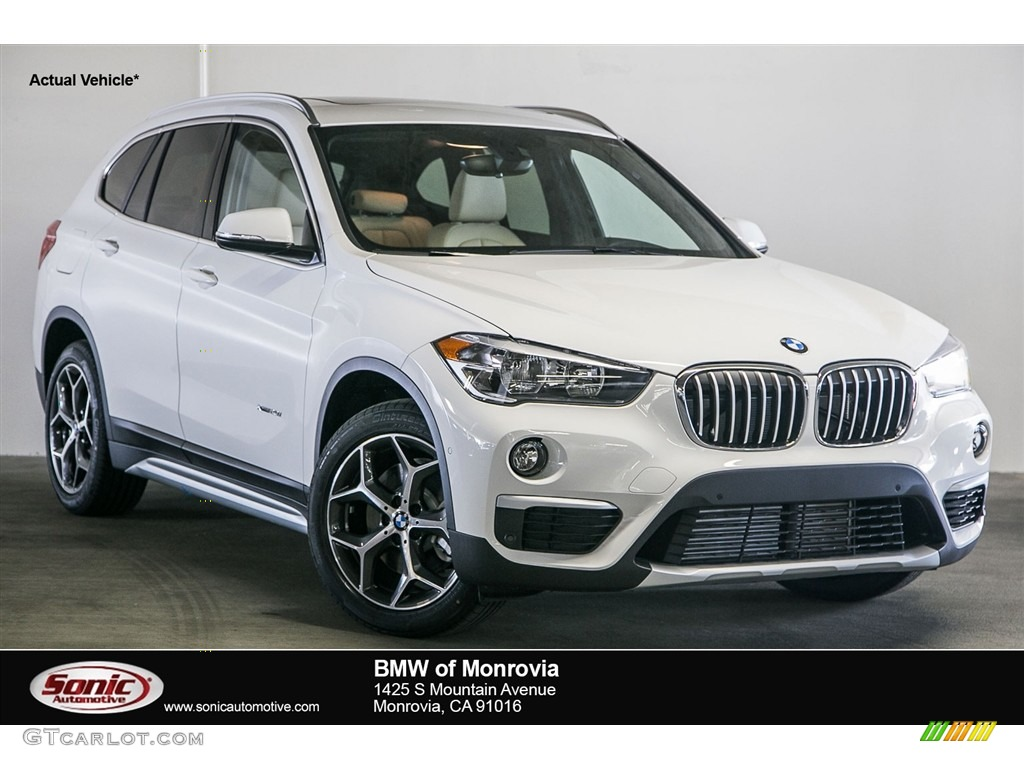 2017 alpine white bmw x1 xdrive28i 116464092 car color galleries. Black Bedroom Furniture Sets. Home Design Ideas
