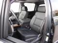 Jet Black Front Seat Photo for 2017 Chevrolet Silverado 1500 #116482591