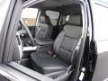 Jet Black Front Seat Photo for 2017 Chevrolet Silverado 1500 #116484652